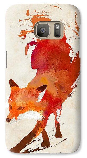 Vulpes Vulpes Galaxy S7 Case by Robert Farkas