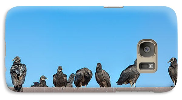 Anhinga Galaxy S7 Case - Vultures On Anhinga Trail, Everglades by Panoramic Images