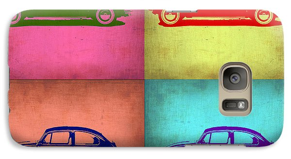 Vw Beetle Pop Art 1 Galaxy S7 Case by Naxart Studio