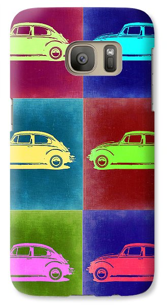 Beetle Galaxy S7 Case - Vw Beetle Pop Art 2 by Naxart Studio