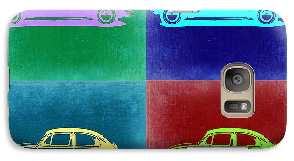 Beetle Galaxy S7 Case - Vw Beetle Pop Art 3 by Naxart Studio