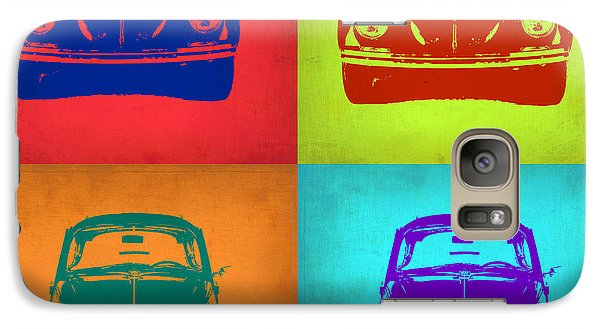Beetle Galaxy S7 Case - Vw Beetle Pop Art 5 by Naxart Studio