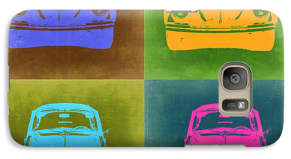 Beetle Galaxy S7 Case - Vw Beetle Pop Art 6 by Naxart Studio