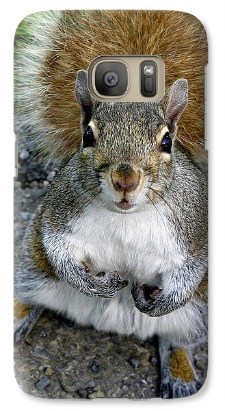 Galaxy Case featuring the photograph Wa'cha Got For Me Today by Gene Walls