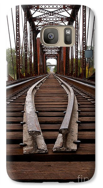 Galaxy Case featuring the photograph Waco Tracks by Sherry Davis