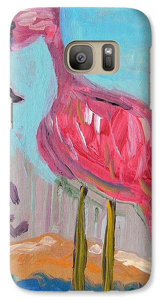 Galaxy Case featuring the painting Wade Right On In by Mary Carol Williams