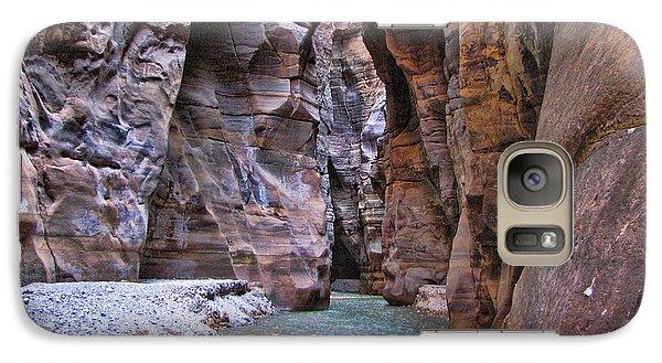 Galaxy Case featuring the photograph Wadi Mujib by David Gleeson