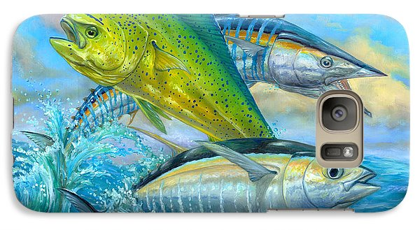 Wahoo Mahi Mahi And Tuna Galaxy S7 Case