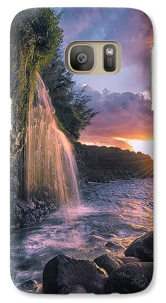 Galaxy Case featuring the photograph Wai Kai II by Hawaii  Fine Art Photography