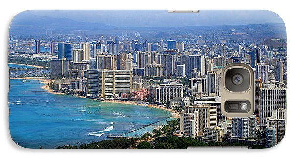Galaxy Case featuring the photograph Waikiki by Kara  Stewart