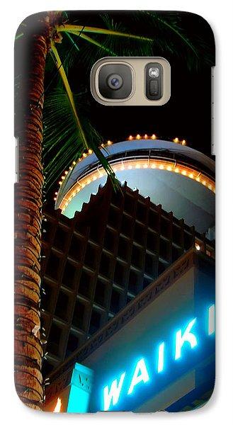 Galaxy Case featuring the photograph Waikiki Nightlife by Kara  Stewart