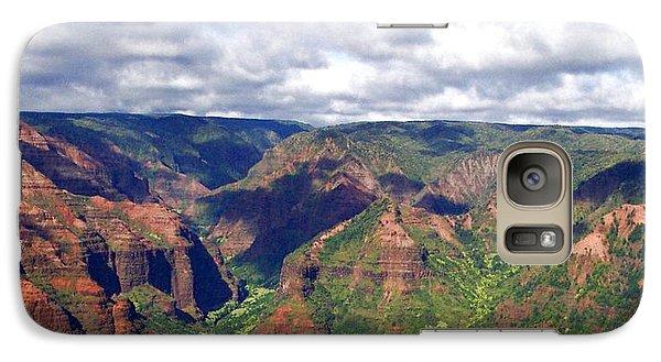 Galaxy Case featuring the photograph Waimea Canyon by Amy McDaniel
