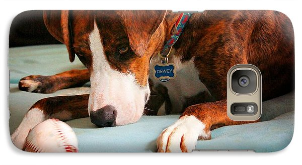 Galaxy Case featuring the photograph Wait For It      Wait For It by Robert McCubbin