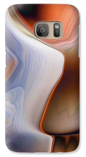 Galaxy Case featuring the digital art Waiting Feverishly by Steve Sperry