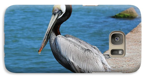 Galaxy Case featuring the photograph Waiting For A Fish  by Christy Pooschke