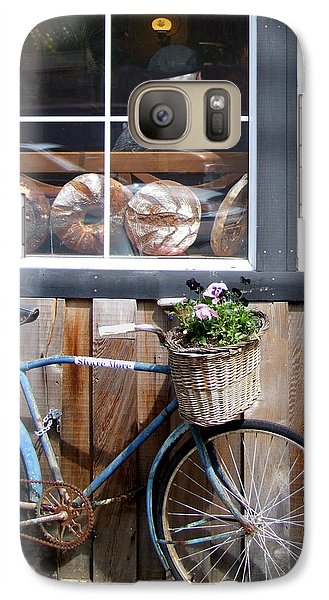 Galaxy Case featuring the photograph Waiting For Bread by Mark Alan Perry