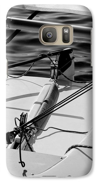 Galaxy Case featuring the photograph Waiting For Sailors by Erin Kohlenberg