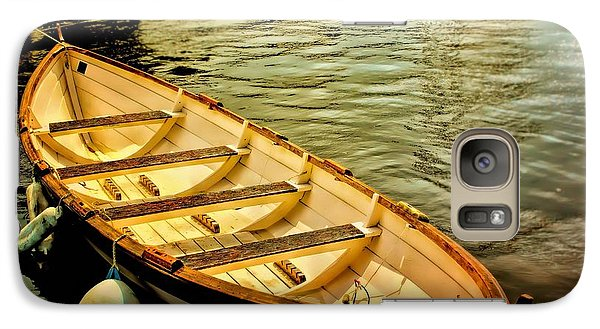 Galaxy Case featuring the photograph Waiting For The Fisherman by Wallaroo Images