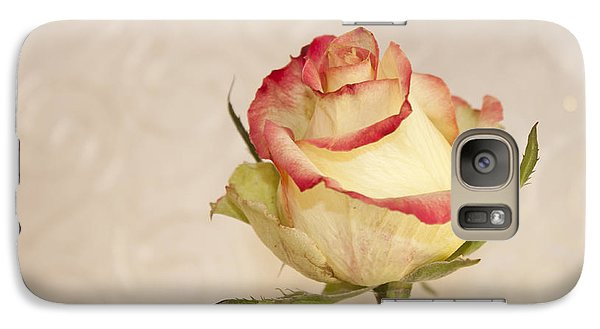 Galaxy Case featuring the photograph Waiting For The Unfurling by Sandra Foster