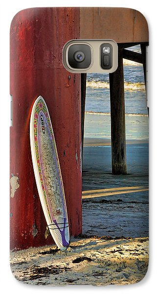 Galaxy Case featuring the photograph Waiting by Kenny Francis