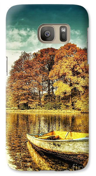 Mo Galaxy S7 Case - Waiting by Mo T