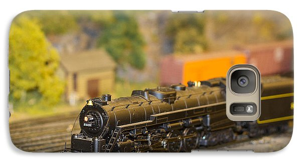 Galaxy Case featuring the photograph Waiting Model Train  by Patrice Zinck
