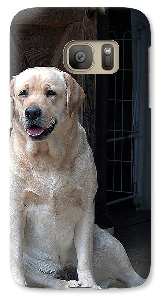 Galaxy Case featuring the photograph Waiting Patiently by Sami Martin