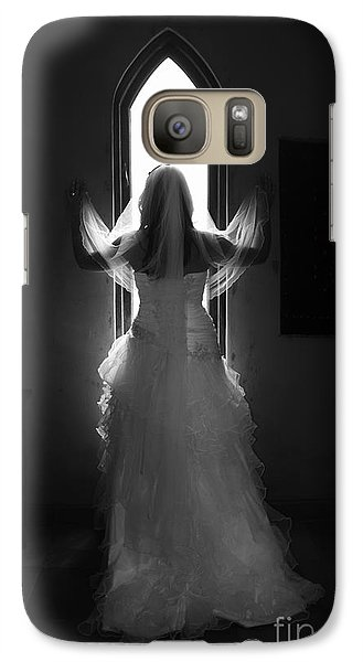 Galaxy Case featuring the photograph Waiting To Be Married by Taschja Hattingh