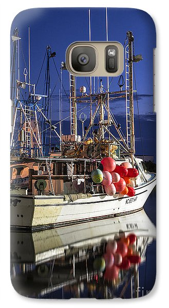 Galaxy Case featuring the photograph Waiting To Fish by Terry Rowe
