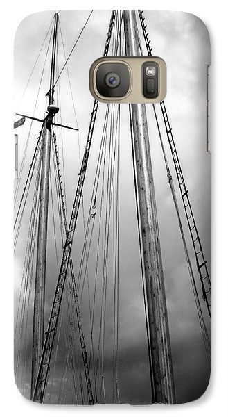 Galaxy Case featuring the photograph Waiting To Sail by Ellen Tully