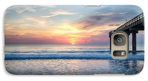 Galaxy Case featuring the photograph Waking Up The World by Kathy Ponce