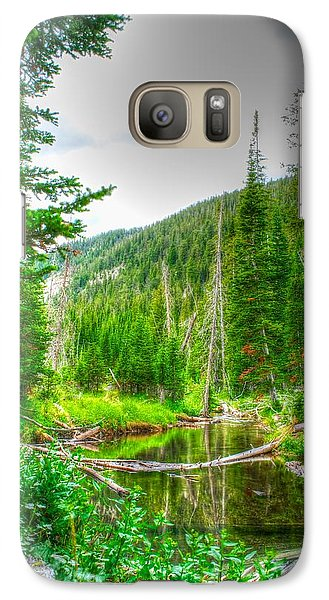 Galaxy Case featuring the photograph Walk In The Woods by Kevin Bone