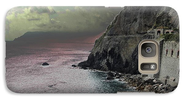 Galaxy Case featuring the photograph Walk Of Love Riomaggiore by Natalie Ortiz