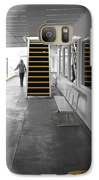 Galaxy Case featuring the photograph Walk This Way by Marilyn Wilson