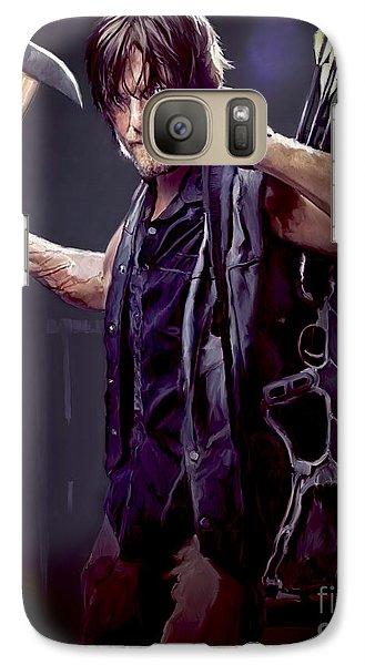 Walking Dead - Daryl Dixon Galaxy S7 Case