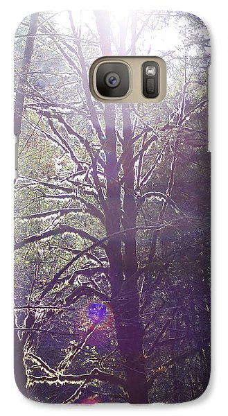 Galaxy Case featuring the photograph Walking In The Woods by Angi Parks