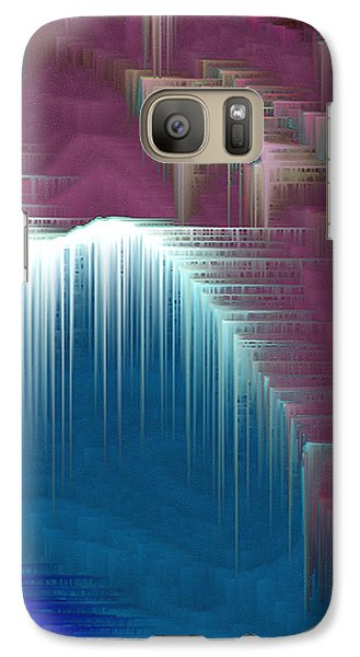 Galaxy Case featuring the mixed media Walking On Air by Carl Hunter