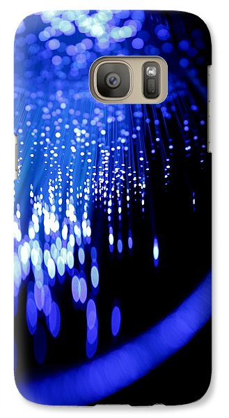 Galaxy Case featuring the photograph Walking On The Moon by Dazzle Zazz