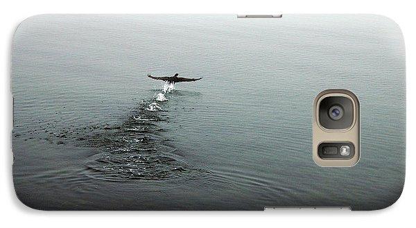 Galaxy Case featuring the photograph Walking On Water by Randi Grace Nilsberg
