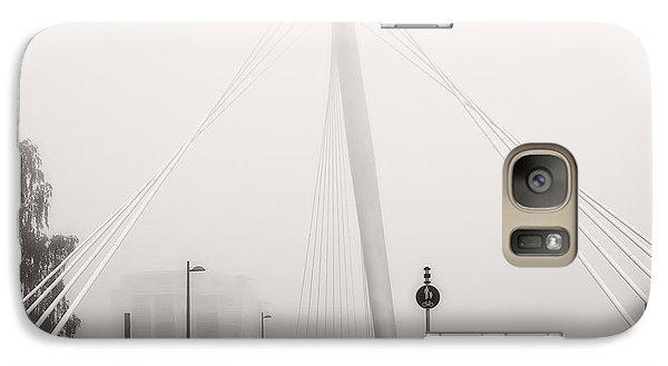 Galaxy Case featuring the photograph Walking Through The Mist by Ari Salmela