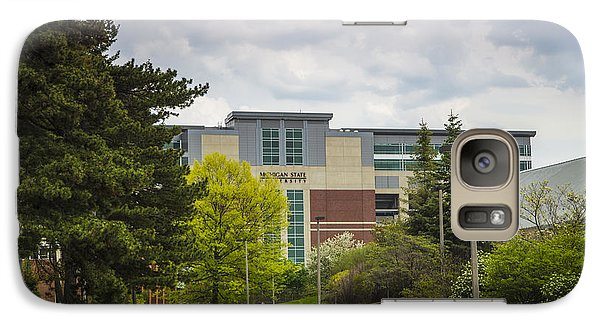 Walkway To Spartan Stadium Galaxy Case by John McGraw