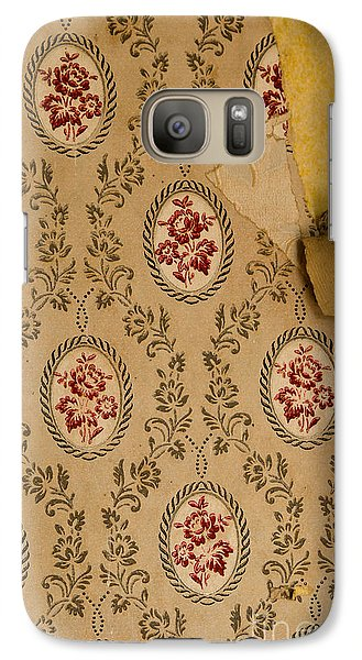 Galaxy Case featuring the photograph Wallpaper by Liz  Alderdice