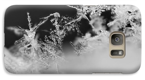 Waltz Of The Snowflakes Galaxy S7 Case by Rona Black