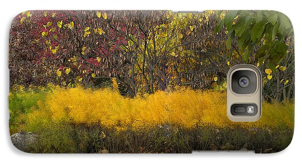 Galaxy Case featuring the photograph Wander Into Fall by Teresa Schomig