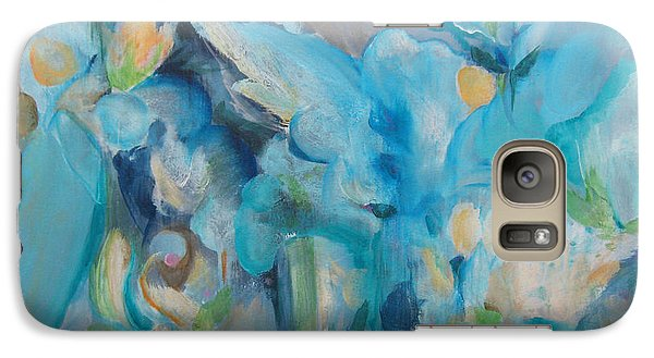 Galaxy Case featuring the painting Wandering Away II by Elis Cooke