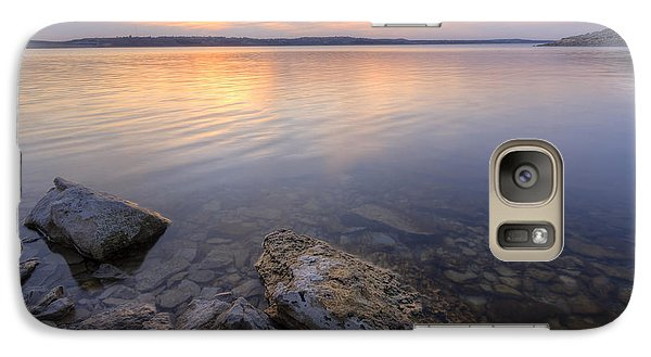 Galaxy Case featuring the photograph Wandering The Shoreline by Scott Bean