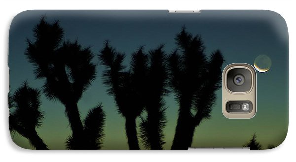 Galaxy Case featuring the photograph Waning by Angela J Wright
