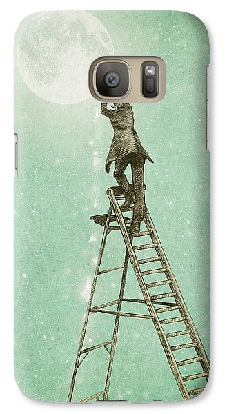 Waning Moon Galaxy S7 Case