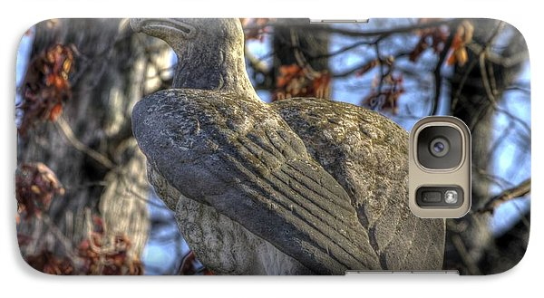 Galaxy Case featuring the photograph War Eagles - 28th Massachusetts Volunteer Infantry Rose Woods Near The Wheatfield Winter Gettysburg by Michael Mazaika