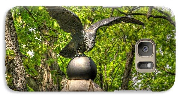 Galaxy Case featuring the photograph War Eagles - 29th Pennsylvania Infantry Slocum Avenue South Culp's Hill Spring Gettysburg by Michael Mazaika